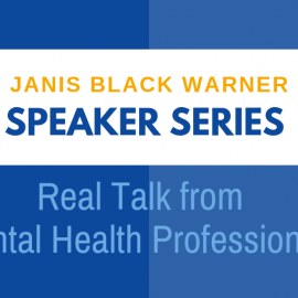 Janis Black Warner Speaker Series November 2020: Dr. Daniel Eisenberg Discusses Schizophrenia