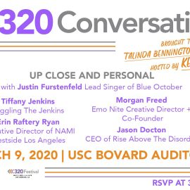 Upcoming Event: 320 Conversations