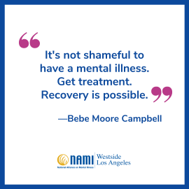 Bebe Moore Campbell Minority Mental Health Month 2020